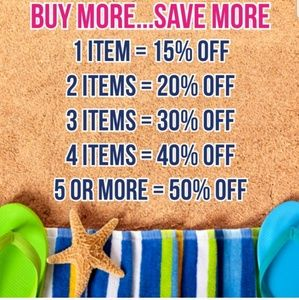 Buy more...Save more!!